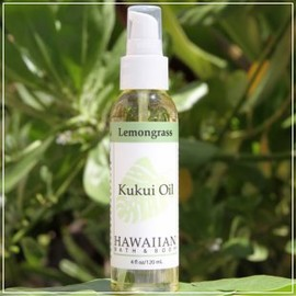 hawaiian bath & body - ククイオイル ・レモングラス Lemongrass Kukui Nut Oil