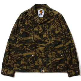 A BATHING APE - Image of A Bathing Ape 2013 Fall/Winter LIZARD CAMO MILITARY JACKET