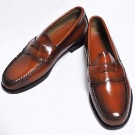 G.H.BASS - WEEJUNS 【LOGAN】 PENNY LOAFER / COGNAC