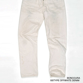 BONCOURA - 66TYPE OFFWHITE DENIM