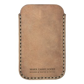 "Makr Carry Goods - ""iPhone Sleeve"" (Khaki)"