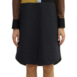 MARNI - Colorblock Shirt Dress