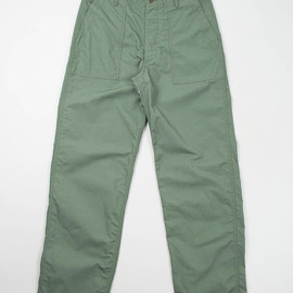 Engineered Garments Workaday - Olive NyCo Ripstop Fatigue Pant Special