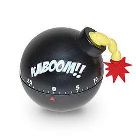BIG MOUTH - Tickin' Time Bomb Kitchen Timer