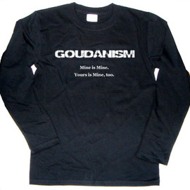 ice-mix - GOUDANISM 長袖Tシャツ