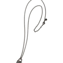 CORE JEWELS×UNDER COVER - ネックレス SILVER / CJ BLACK 50cm