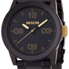 NIXON - PRIVATE SS MATTE BLACK/GOLD NA2761041-00
