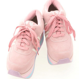 Candy Stripper - POP STAR! HIGH SOLE SNEAKERS