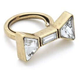 MARC BY MARC JACOBS - Marc by Marc Jacobs ID Bow Ring