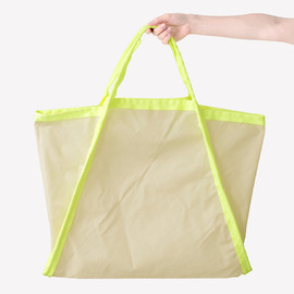 Maharam - Three Bag Large / 002 Vellum/Neon