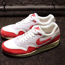 Nike - NIKE AIR MAX I OG 「LIMITED EDITION for SELECT」SAIL/UNIVERSITY RED/GREY/BLACK