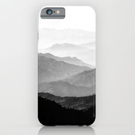 Society6 - Mountain Mist iPhone Case