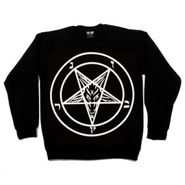 Killstar - Baphomet Crew Neck Sweatshirt
