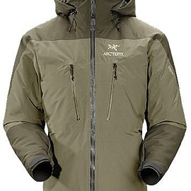 Arc'teryx - Fission SV Jacket 2008 OREGANO Made in Canada