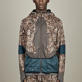 NIKE GYAKUSOU - MEN'S FABRIC MIX CAMO JACKET