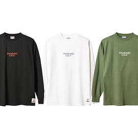 STANDARD CALIFORNIA - SD Heavyweight Long Sleeve T with Logo