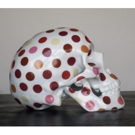 NooN - Skull Polka dot Porcelain by NooN