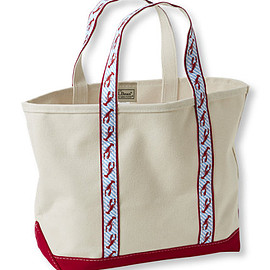 L.L.Bean - Maine Isle Boat and Tote Lobster Red