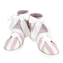 Candy Stripper - STUNNING STRIPE LEATHR SHOES