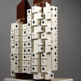 Lego Architecture - レゴ アーキテクチャー 中銀カプセルタワー Lego Nakagin Capsule Tower