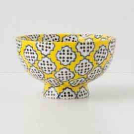Anthropologie - Tiled & Dotted Bowl