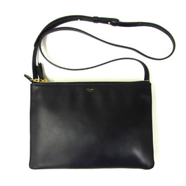 CELINE - Large trio bag Navy