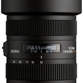 SIGMA - SIGMA 12-24mm F4.5-5.6 II DG HSM for Nikon 12-24/4.5-5.6 Ⅱ DG NA