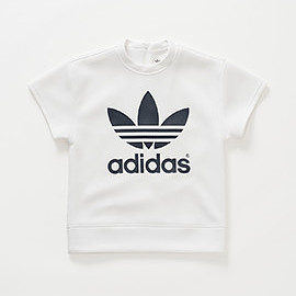 adidas Originals by HYKE - HY SSL Sweat / WHITE