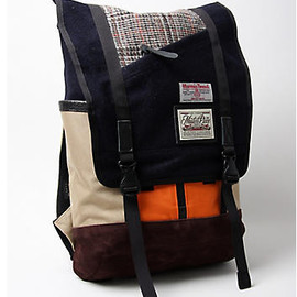 masterpiece - MASTER-PIECE HARRIS TWEED SLASH RUCKSACK