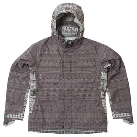 White Mountaineering - Pertex Ethnic Pattern Jacket