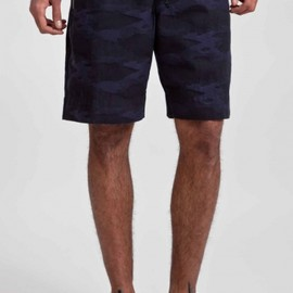 dries van noten - plenty shorts navy