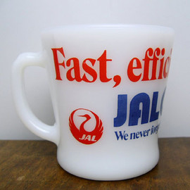 Fire King - JAL CARGO mug