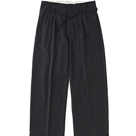 OLD JOE & Co. - STRING WAIST WORK TROUSER #INK BLACK