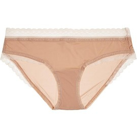 Calvin Klein Underwear - Signature lace-trimmed stretch-jersey briefs