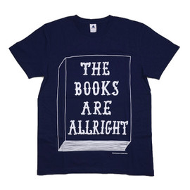 ON READING - THE BOOKS ARE ALLRIGHT Tシャツ