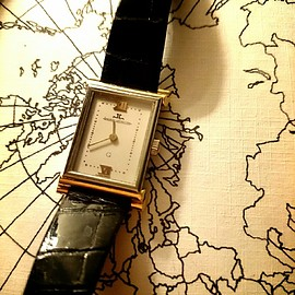 Reverso Watch/ Customized by Jonathan Meese