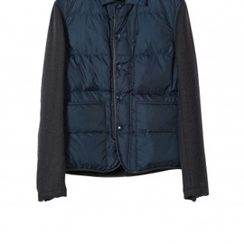 MARNI - MARNI  runway bomber Encre and Dark Antracite