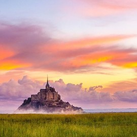 France - Morning in Mont St Michel