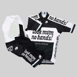 Look mum no hands! - LMNH Team Kit Jersey and Bib Short Set - Men's & Women's
