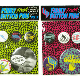 BBP - FUNKY BUTTON PINS