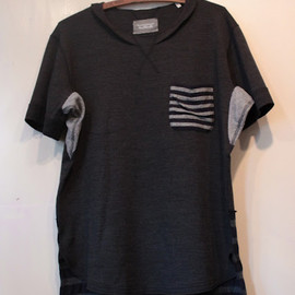 TAKAHIROMIYASHITA The SoloIst. - crew necked s/s tee with double pocket.