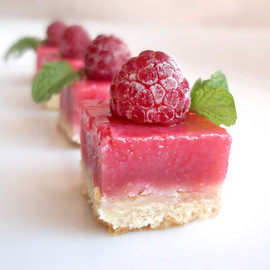 Raspberry Lemonade Slice