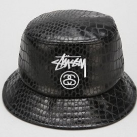 Stussy - Stussy X UO Croc Vegan-Leather Bucket Hat