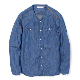 nonnative - ROVER SHIRT - C/L 7oz DENIM
