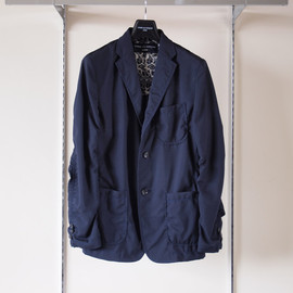 COMME des GARCONS HOMME - 縮絨 Unconstructed Jacket #navy