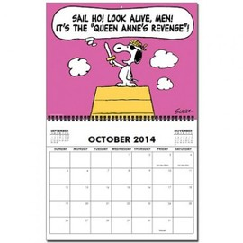 PEANUTS - Birthdays Calendar