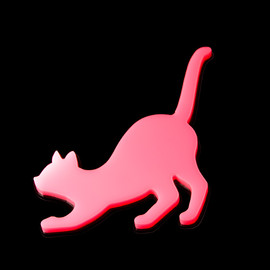 High-Me TOKYO - The Cat of Night Brooch