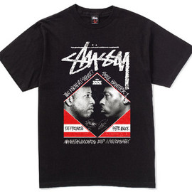 Stussy - x MANHATTAN RECORDS x DJ PREMIER & PETE ROCK
