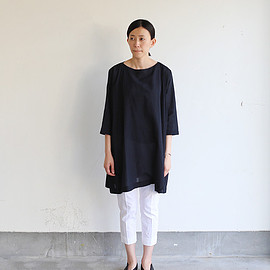 ARTS&SCIENCE - Tent line tunic~ai-susu cotton