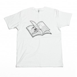 Noritake - MAGAZINE WAVE TEE (white)